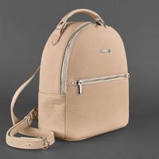Женский кожаный рюкзак BlankNote BN-BAG-22-crem-brule