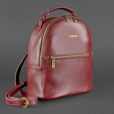 Жіночий шкіряний рюкзак BlankNote BN-BAG-22-marsala