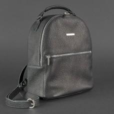 Жіночий шкіряний рюкзак BlankNote BN-BAG-22-onyx