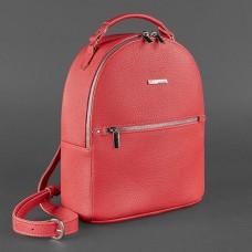 Жіночий шкіряний рюкзак BlankNote BN-BAG-22-rubin