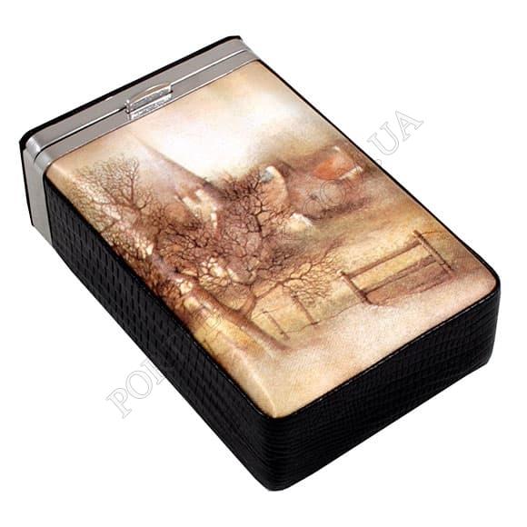 Сигаретница Petek 623-041-01 черный