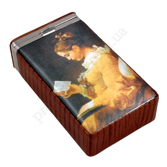 Сигаретница Petek 624-041-04 коричневый