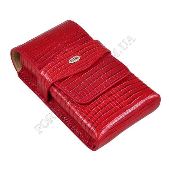Сигаретница Petek 625-041-10 красный