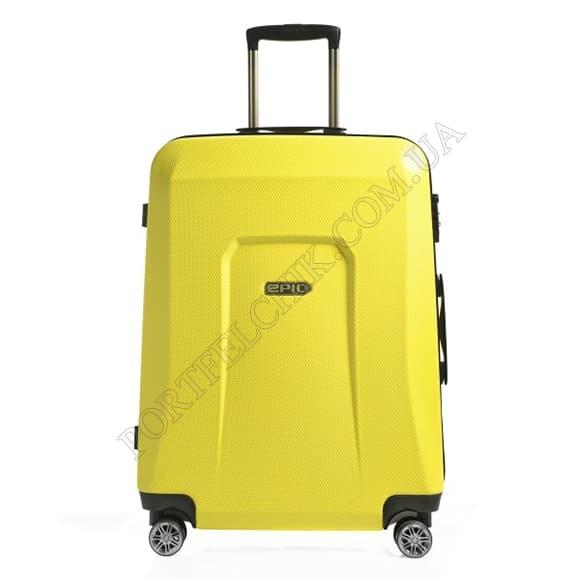 Чемодан на колесах Epic HDX (L) Yellow Glow желтый большой