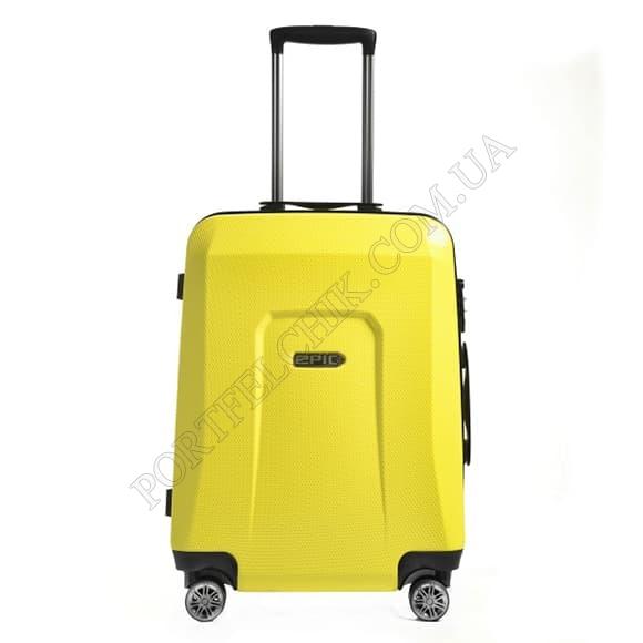 Чемодан на колесах Epic HDX (M) Yellow Glow желтый средний