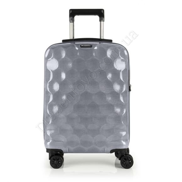 Чемодан на колесах Gabol Air (S) Silver серый маленький