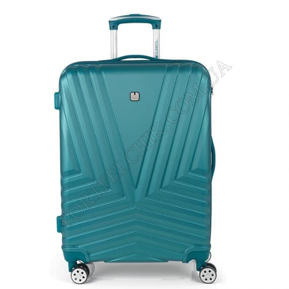 Чемодан на колесах Gabol Atlanta (M) Turquoise бирюзовый средний