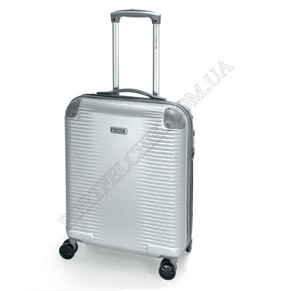 Чемодан на колесах Gabol Balance (S) Silver серый маленький