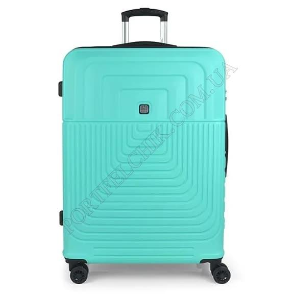 Валіза на колесах Gabol Ego (L) Turquoise (119847-018) бірюзовий великий