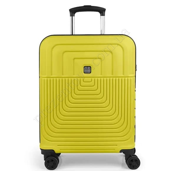 Чемодан на колесах Gabol Ego (S) Lime (119822 041) желтый маленький