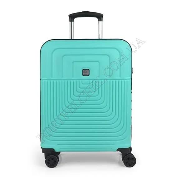Валіза на колесах Gabol Ego (S) Turquoise (119822-018) бірюзовий маленький