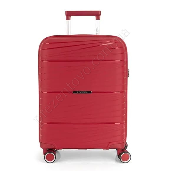 Чемодан на колесах Gabol Kiba (S) Red (122022 008) красный маленький