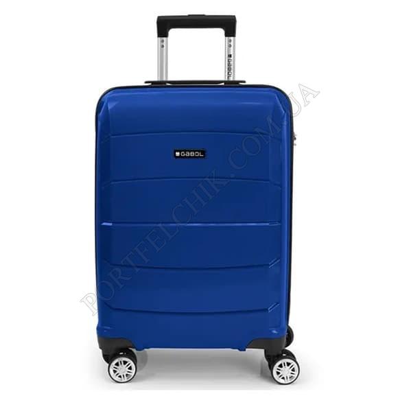 Чемодан на колесах Gabol Midori (S) Blue (122122 003) синий маленький