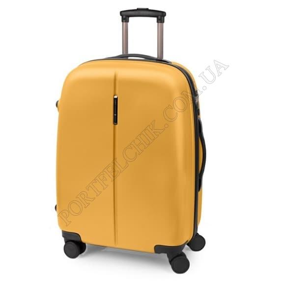Чемодан на колесах Gabol Paradise (M) Mustard желтый средний