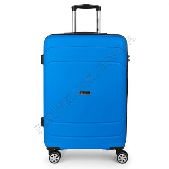 Чемодан на колесах Gabol Shibuya (M) Blue синий средний