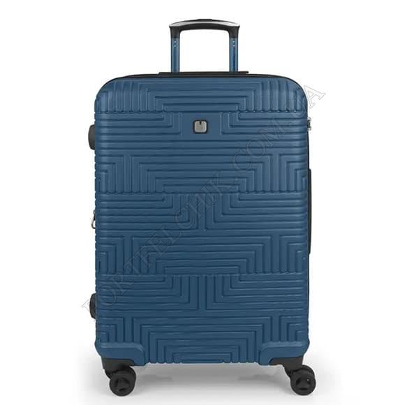 Чемодан на колесах Gabol Shock (M) Blue (120246 003) синий средний