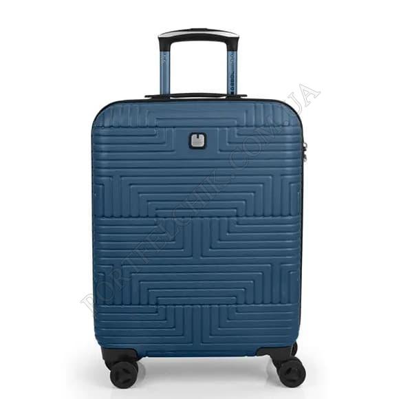 Чемодан на колесах Gabol Shock (S) Blue (120222 003) синий маленький