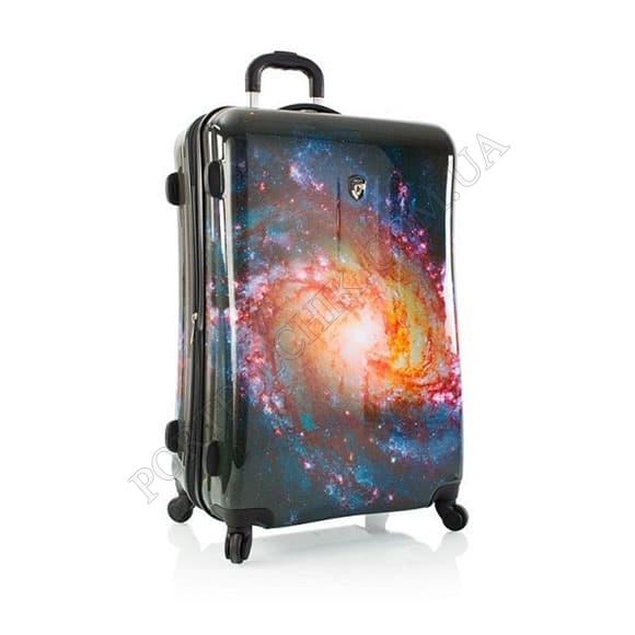 Чемодан на колесах Heys Cosmic Outer Space (L) принт большой
