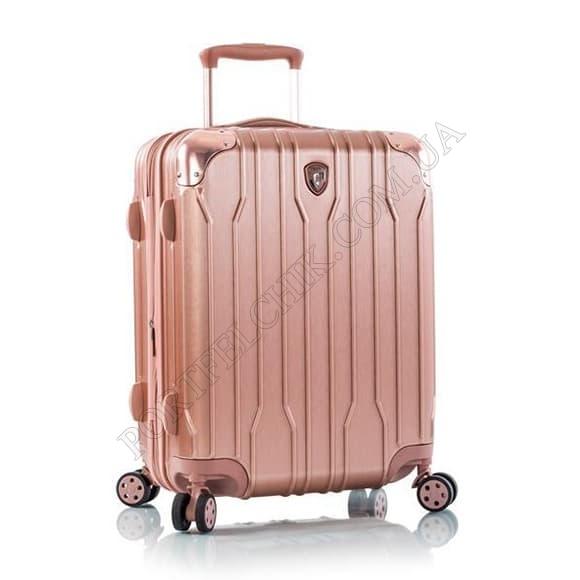 Чемодан на колесах Heys Xtrak (S) Rose Gold розовый маленький