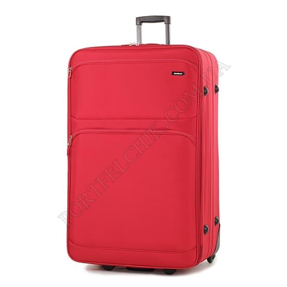 Чемодан на колесах Members Topaz (XL) Red красный большой