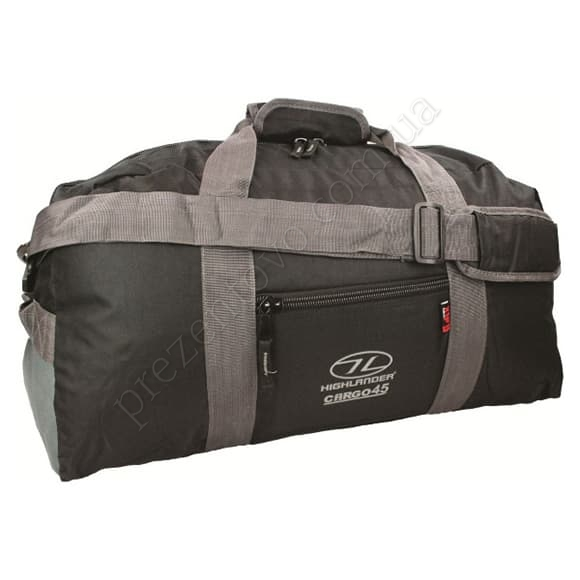 Дорожная сумка Highlander Cargo 45 Black черный