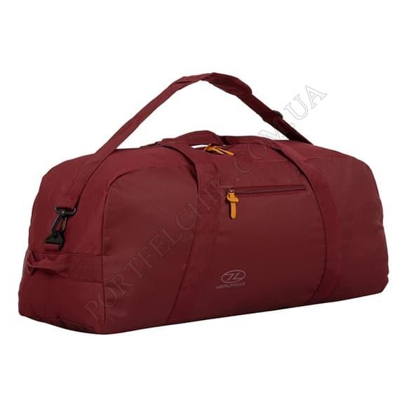 Дорожная сумка Highlander Cargo II 100 Port бордовый