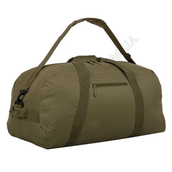 Дорожная сумка Highlander Cargo II 65 Olive Green оливковый