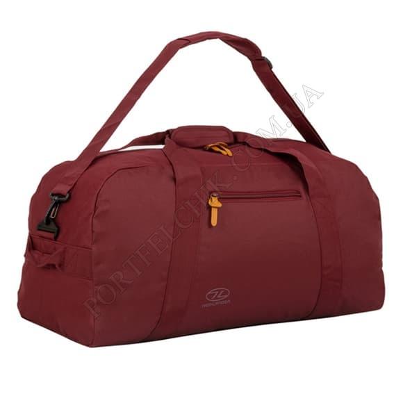 Дорожная сумка Highlander Cargo II 65 Port бордовый