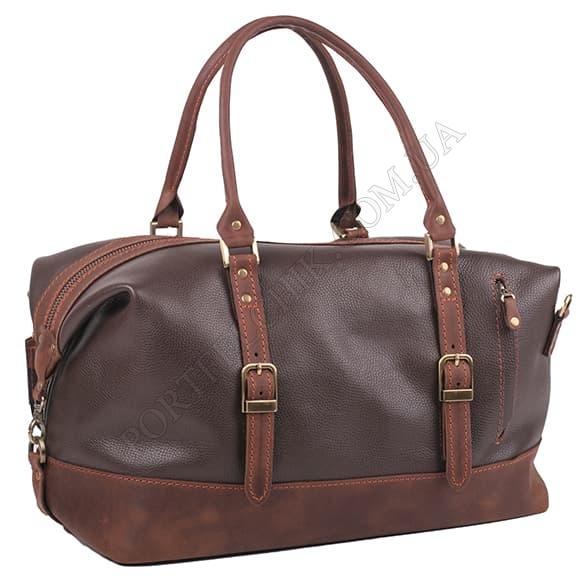 Дорожная сумка Manufatto №7 Flotar and Crazy Horse Brown коричневый