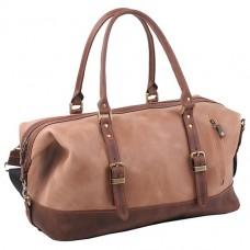 Дорожная сумка Manufatto №7 Крейзи Бежевая