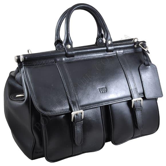 Дорожня сумка Petek 3815-000-01 чорний
