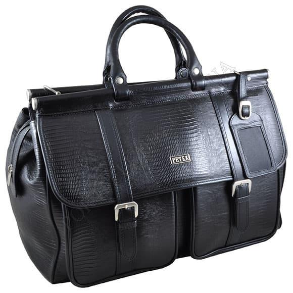 Дорожня сумка Petek 3815-041-01 чорний