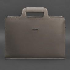 Сумка портфель кожаная BlankNote BN-BAG-36-beige