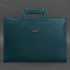 Сумка портфель кожаная BlankNote BN-BAG-36-malachite