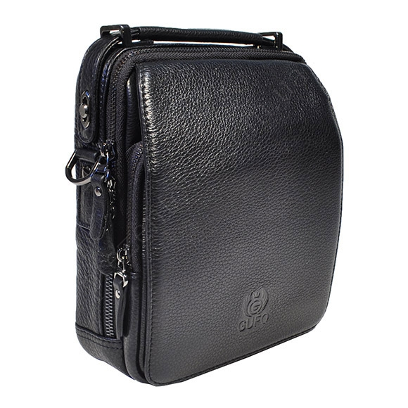 Мужская сумка через плечо Gufo 5206-5 BL черный