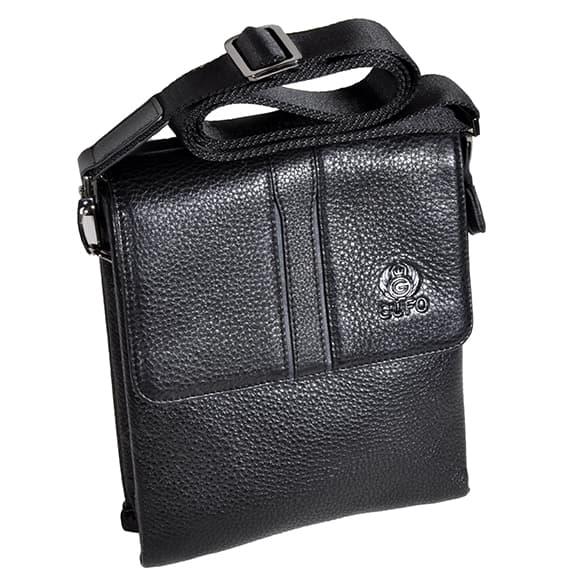 Мужская сумка через плечо Gufo 5299-4-01 черный