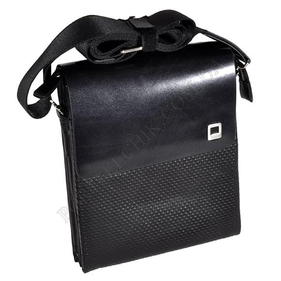 Мужская сумка через плечо Gufo 7100-4-101 черный