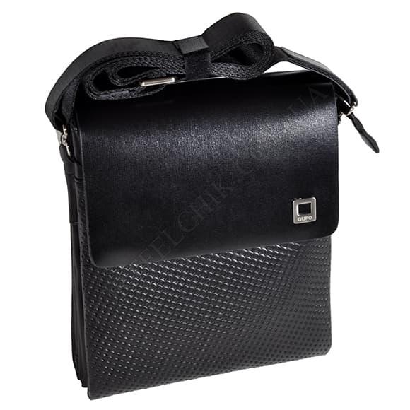 Мужская сумка через плечо Gufo 7100-4-111 черный
