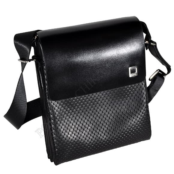 Мужская сумка через плечо Gufo 7100-4-121 черный