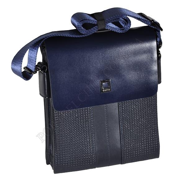 Мужская сумка через плечо Gufo 7828-24-155 синий