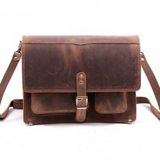 Чоловіча сумка через плече Manufatto-Листоноша Crazy Horse Brown