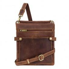 Чоловіча сумка через плече Visconti 18512 OIL TAN