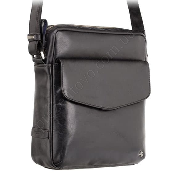 Мужская сумка через плечо Visconti ML-36 BLK черный