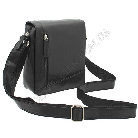 Мужская сумка через плечо Visconti S-7 BL черный