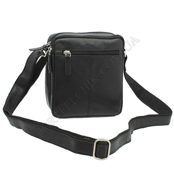 Чоловіча сумка через плече Visconti S-8 BLK чорний