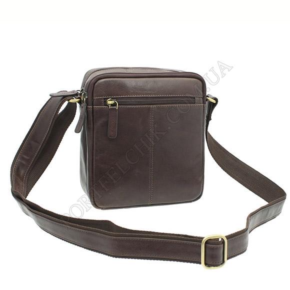 Мужская сумка через плечо Visconti S-8 BRN коричневый