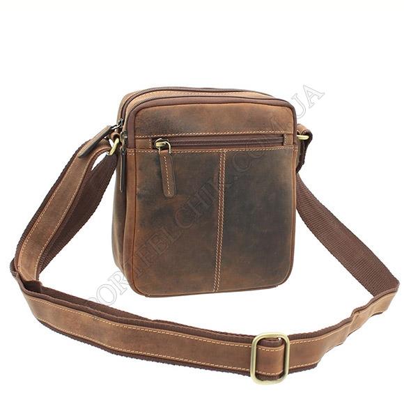 Чоловіча сумка через плече Visconti S-8 OIL TAN коричневий