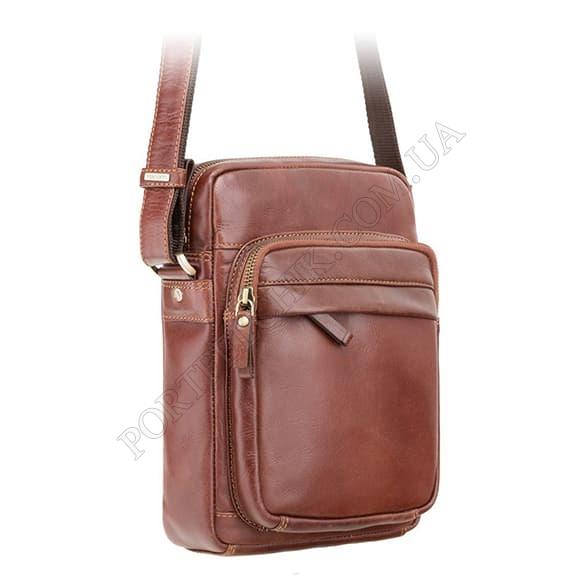 Мужская сумка через плечо Visconti VT-1 BRN коричневый