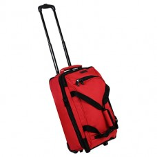 Members Expandable Wheelbag Small 33/42 Red