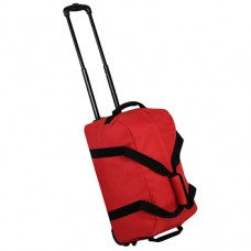 Members Holdall On Wheels Small 42 Red